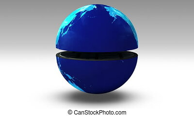 Earth changes numerous real estate building, real estate...