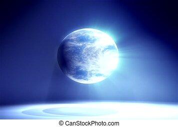 Earth, cosmos, universe