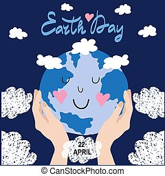 Earth day 20 - International Earth Day. Save the planet ...