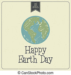 Earth Day - Abstract earth day background with special...