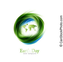 Earth Day Design - Save The Planet Earth Day Environment...