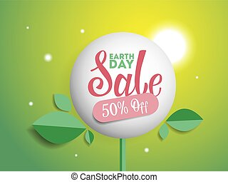 Earth day sale.
