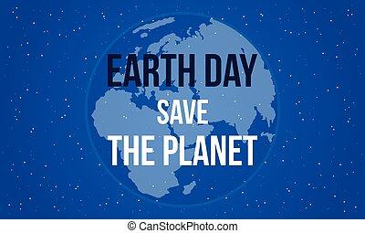Earth day save the planet style