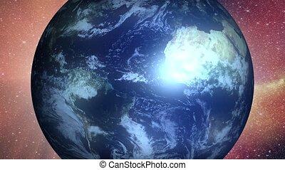 Earth - detail