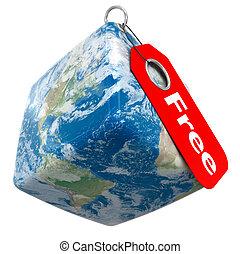 Earth Free Price Tag