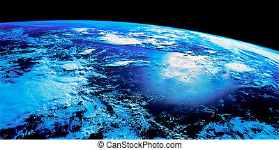 earch from space