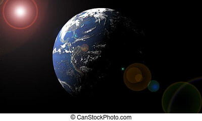 Earth From Space Loop