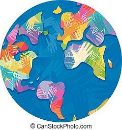Earth Hands Designs Illustration
