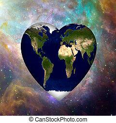 Earth Heart Cosmos