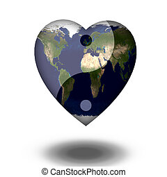 Earth Heart Yin Yang