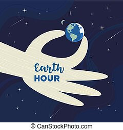 Earth hour day
