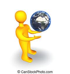 Earth Human 3D