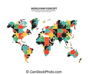 Earth icon. World and Map design. Vector graphic
