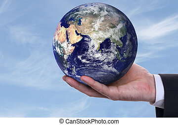 earth in a hand 2