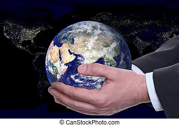 earth in a hands, night city 2