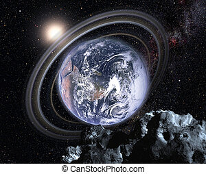 Earth in a parallel universe