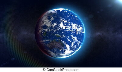 Earth loop rotation