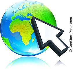 earth map globe