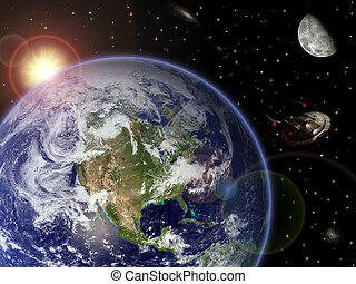 Earth- Moon