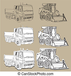 Earth moving equipment trucks - Earth moving truck and ...