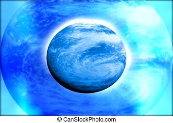 Earth, planet, atmosphere