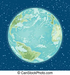 earth planet. weather, nature and environment