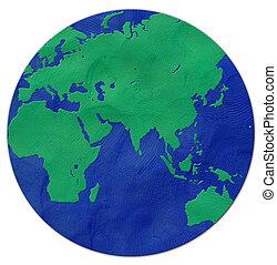 Earth plasticine