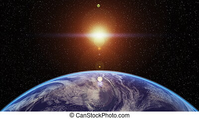 earth - image of space ship