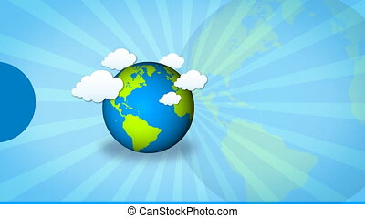 earth template - earth moving with blank tag
