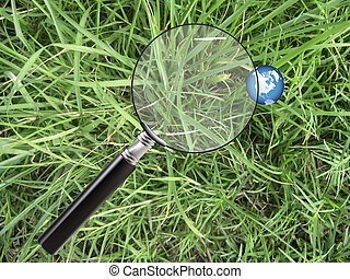 Earth through a magnifying glass