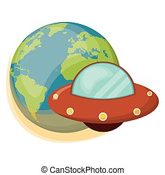 earth UFO spaceship object