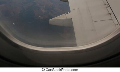 Earth View From The Plane
