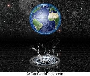 Earth Water Emerge