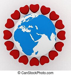 conception of love in the whole world