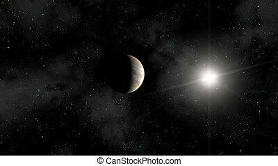 Earth Zoom Out -Jupiter to Pluto 2/3 - A space zoom out ...