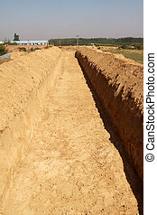 earthwork in rural areas in China