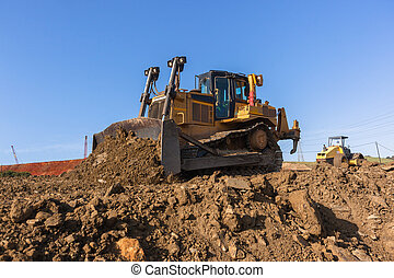 Earthworks Dozer And Compactor Construction - Construction ...
