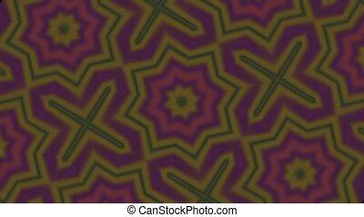Earthy Kaleidoscope Motion Loop HD