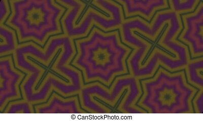 Earthy Kaleidoscope Motion Loop HD - Perfectly seamless...