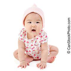 East Asian baby girl