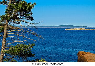 East Coast Maine - View off the coast of Maine