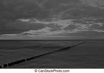 east coast of germany - this is the east coast of germany on...