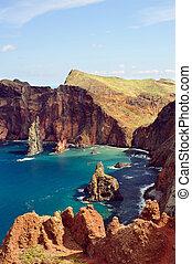 East coast of Madeira island Ponta de Sao Lourenco - East ...