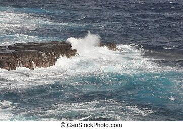 East Coast of Oahu in Hawaii
