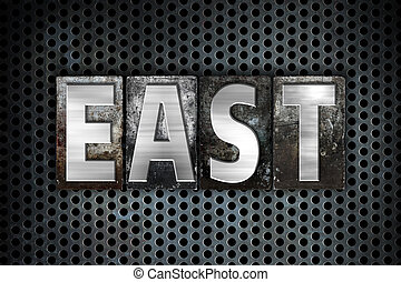 East Concept Metal Letterpress Type