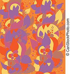 East ethnic seamless floral pattern ornate design