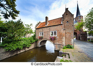 East Gate in Delft - Holland