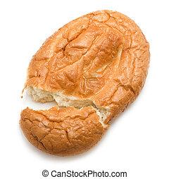 East matnakash bread, isolated on  white