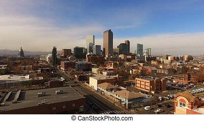 East Side Denver Colorado Capital City Downtown City Skyline...
