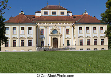 "(east, side), exterior, munich, alemania, ""lustheim"", castillo"